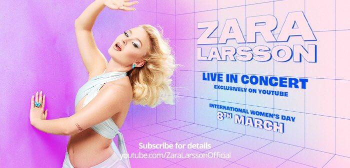 Zara Larsson – gratis onlinekonsert i samarbete med IKEA